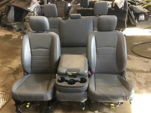 13 14 15 Dodge Ram 1500 2500 Front And Rear Vinyl Seat Seats Hemi Console