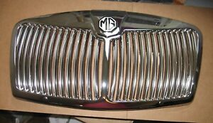 Brand New Mga Front Grille And Fitting Kit 1955 62 Chrome Plated Metal Flat