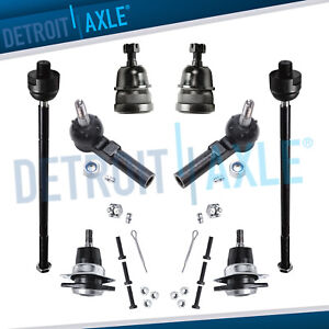 New 8pc Complete Front Suspension Kit For Chevy Camaro Pontiac Firebird