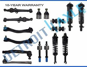 16 Complete Front Rear Struts Suspension Kit 90 93 Honda Accord Exc Wagon