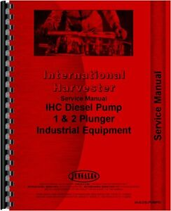 International Harvester Td14a Td18a Td6 Td9 Ud370 Service Manual