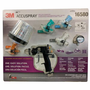 3m Accuspray One Spray Gun System With Pps 16580