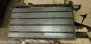 38 X 22 X 4 Steel Weld T slotted Table Cast Iron Layout Plate Jig Weld 4 Slot
