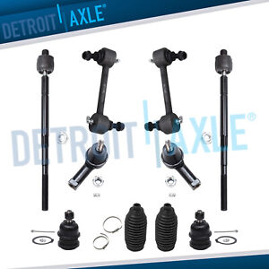 New 10 pc Front And Rear Suspension Kit For Hyundai Elantra Tiburon 2001 2008