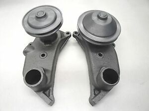 1950 1951 50 51 Ford Car Water Pump Pair Set Narrow Pulley Flat Head Engine