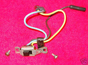 1959 1960 Lincoln Hardtop Cpe Premiere Continental Lh Opera Reading Light Switch