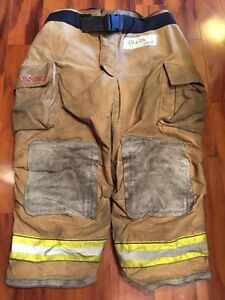 Firefighter Turnout Bunker Pants Globe 48x28 G Extreme Halloween Costume