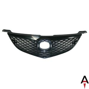 Black Black Front Grille For Mazda 3 Ma1200172 Bn8w50710b08 New