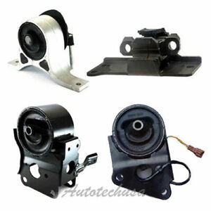 M893 Engine Motor Trans Mount 4pcs For 03 07 Nissan Murano 3 5l 2wd W Sensor