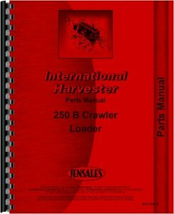 International Harvester 250b Crawler Parts Manual
