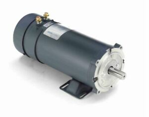 2 Hp 1800 Rpm 56cz Frame 24 Volts Dc Tefc Leeson Electric Motor 109106