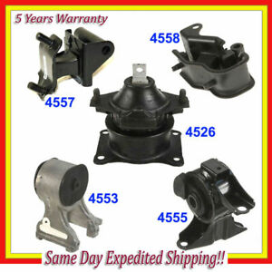 Engine Motor Trans Mount For 2007 Honda Odyssey 3 5l Vtec Kit Set 5pcs M1038