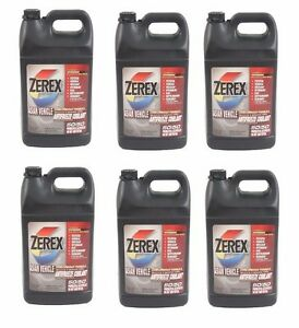 6 Gallon Pack 1 Case Zerex Pink Engine Coolant Antifreeze Fluid For Lexus Toyota