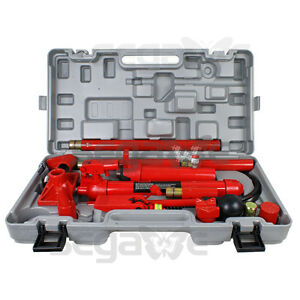 10 Ton Porta Power Hydraulic Jack Body Frame Repair Kit Auto Shop Tool
