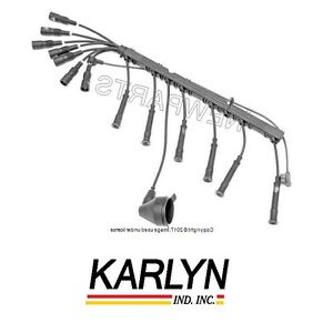 For Bmw E28 E30 E34 Ignition Spark Plug Wires Set Oem Wiring Loom Harness Cables