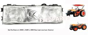 Use For Kubota Tractor L 2808 L 3408 L 4508 Head Lamps Head Lights Assembly 1 Pc