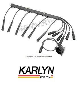 For Bmw E28 528 E30 Ignition Spark Plug disttributor Wires Cables Wiring Loom