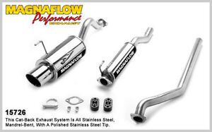 2002 2005 Acura Rsx L4 2 0l Single Magnaflow Cat Back Exhaust System Muffler New