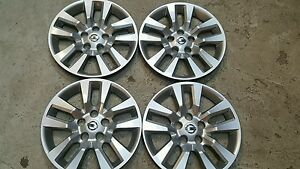Set 4 53088 16 New Hubcap Wheelcover 07 08 09 10 11 12 13 14 2015 Nissan Altima