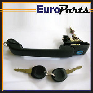 Volkswagen Golf Jetta 3 Cabrio Left Right Outside Door Handle W Keys 1hm837207