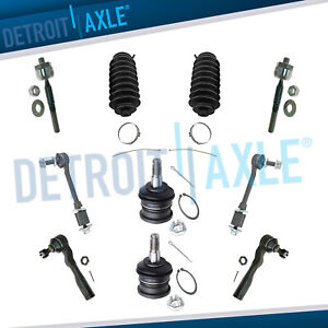 Brand New 10pc Complete Front Suspension Kit For Toyota Sequoia And Tundra