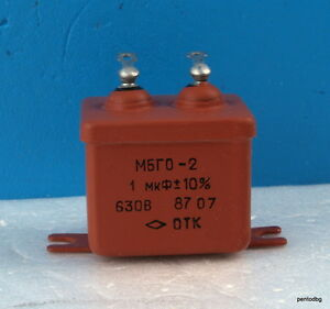 24 Pcs Pio Capacitor Mbgo 2 1uf 10 630v Power And Filter In Original Box