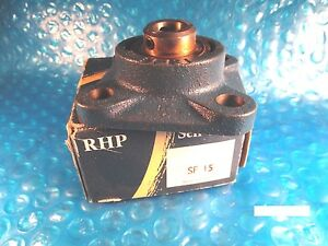 Rhp Sf15 Ball Bearing Flange Unit Insert 1017 15g