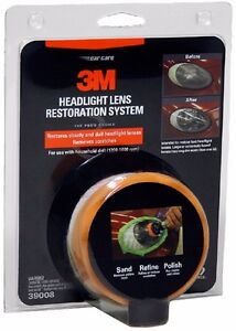3m Headlight Headlamp Lens Restoration Renovation Renewal Cle