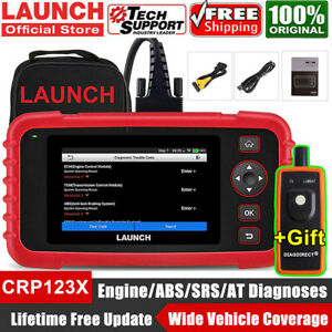 Lifetime Updates Launch X431 Crp123 Obd2 Diagnostic Scanner Transmission Abs Srs