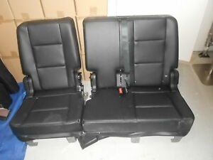 2016 Ford Explorer Leather Second Row Bench Seat 60 40 2015