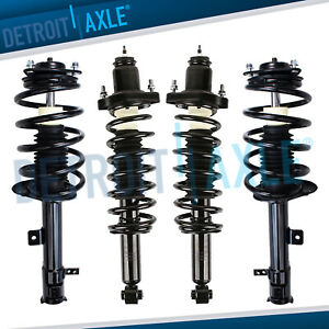 4 Front And Rear Strut W Coil Spring Kit For 2007 2012 Dodge Caliber