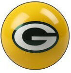 Green Bay Packers Shift Knob Billiard Pool Ball Nfl Threaded Custom Gear Shifter