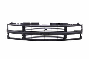 Black Grille For 1994 1999 Chevrolet C1500 K1500 Truck Pickup Suburban Tahoe