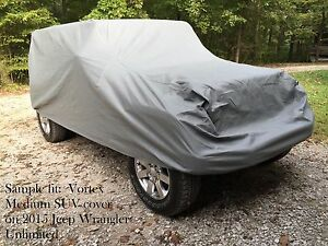 New Vortex True 4 Layer All Weather Small Suv Cover