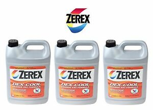 3 Gallon Zerex Engine Coolant Antifreeze Fluid For Jaguar Land Rover Saab Subaru