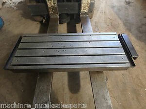 45 25 X 18 7 8 X 5 5 Steel Welding T slotted Table Cast Iron 5 Slot