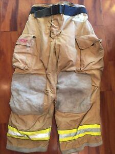 Firefighter Turnout Bunker Pants Globe 40x30 G Extreme Halloween Costume