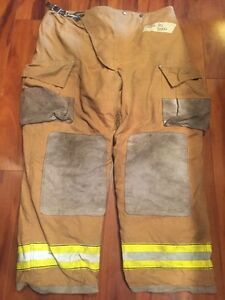 Firefighter Turnout Bunker Pants Globe 46x30 Halloween Costume