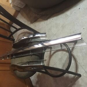 1954 Possible 1955 1956 Cadillac 3 Pieces Stainless Windshield Trim Decent