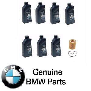 For Genuine Bmw Engine Oil Filter Synthetic 5w30 Motor Oil