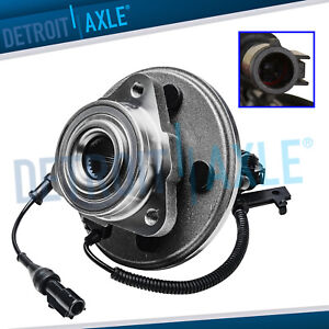 Front Wheel Bearing Hub For 2006 10 Ford Explorer Mercury Mountaineer 4 0l 4 6l
