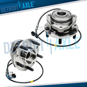 Set 2 New Front Complete Wheel Hub And Bearing Assembly For Chevy Blazer 4x4