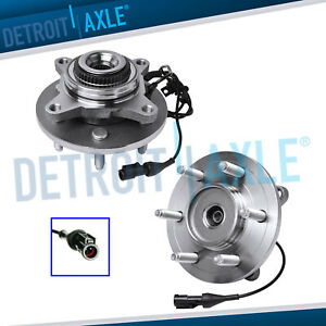 2 Front Wheel Bearing Hub Assy 4x4 For 2005 2008 Ford F 150 Lincoln Mark Lt