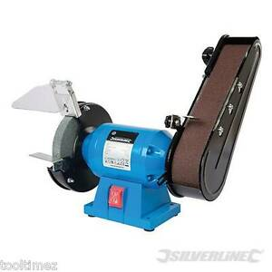 DIY 240W Bench Grinder & Belt Sander UK 3 pin Plug  612519
