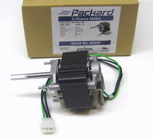 Packard 65345 Motor For Nutone Vent Bathroom Exhaust Fan 62345000