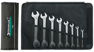 Stahlwille 10 8 10 Series 8 Piece Double Open Ended Metric Spanner Set 6 22mm