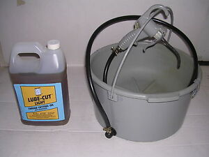 Bucket Oiler Light Threading Oil For Rothenberger Collins Pony Pipe Threader