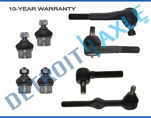 Brand New 8pc Complete Front Suspension Kit For Chevrolet Blazer And Gmc Jimmy