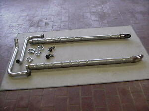 1956 To 1962 Corvette Side Exhaust Pipes 2 Inch