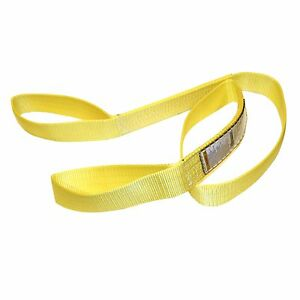 Tuff Tag 4 X 10 Ft Nylon Web Lifting Sling Tow Strap 2 Ply Ee2 904 Eye
